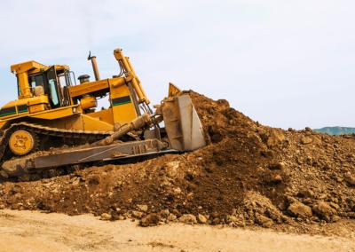 sewa bulldozer solo